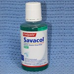 Dental products: Colgate Savacol Mouthwash