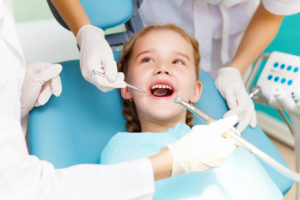 Child at Dentist with Sensory issues